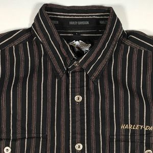 Harley Davidson Long Sleeve Cotton Shirt